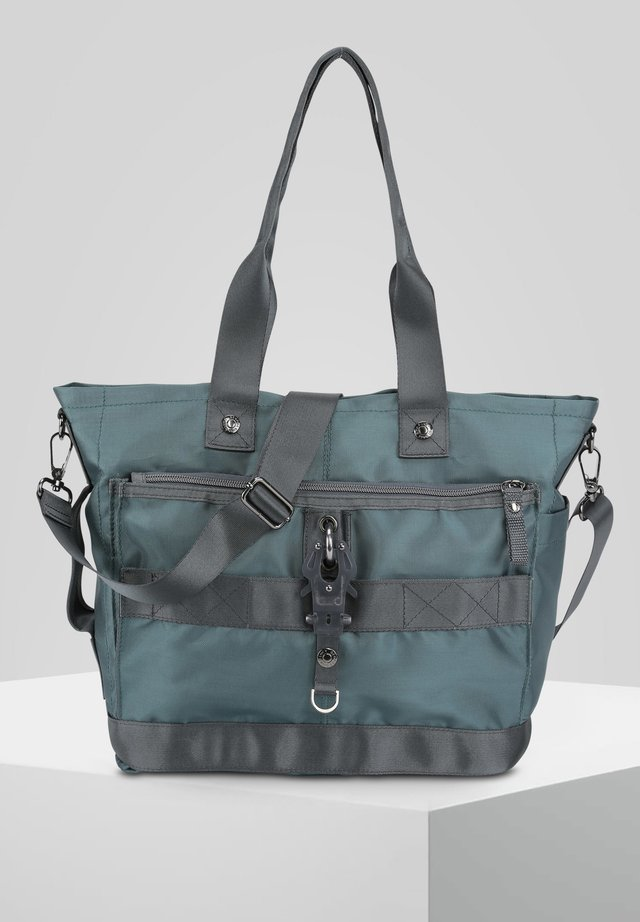 THE STYLER - Handbag - petrol grey