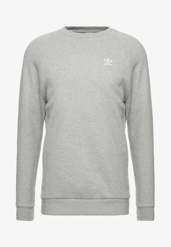 ESSENTIAL CREW - Sweatshirts - medium grey heather