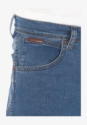 TEXAS STRETCH - Straight leg jeans - blue denim