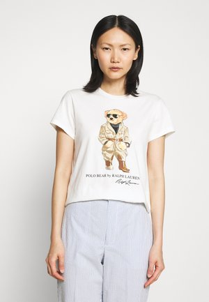 T-shirt med print - nevis