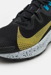 Nike Performance - PEGASUS TRAIL 2 - Trail running shoes - black/dark sulfur/off noir/chile red/laser blue/limelight - 5