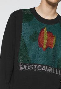 Just Cavalli - FELPA - Collegepaita - black - 5
