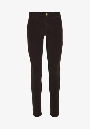 NEW LUZ - Trousers - brown