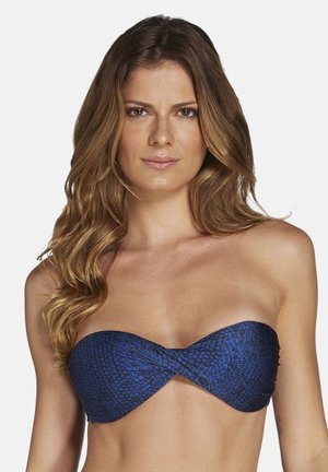 TIBET,TWISTED  - Bikini top - blue