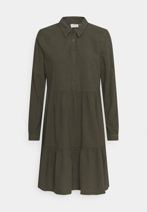 NAYA DRESS - Shirt dress - grape leaf