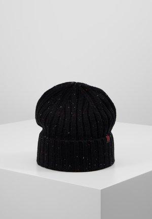 Čepice - bordeaux/black