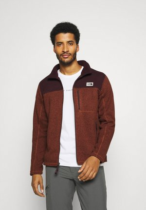GORDON LYONS FULL ZIP - Kurtka z polaru - brown