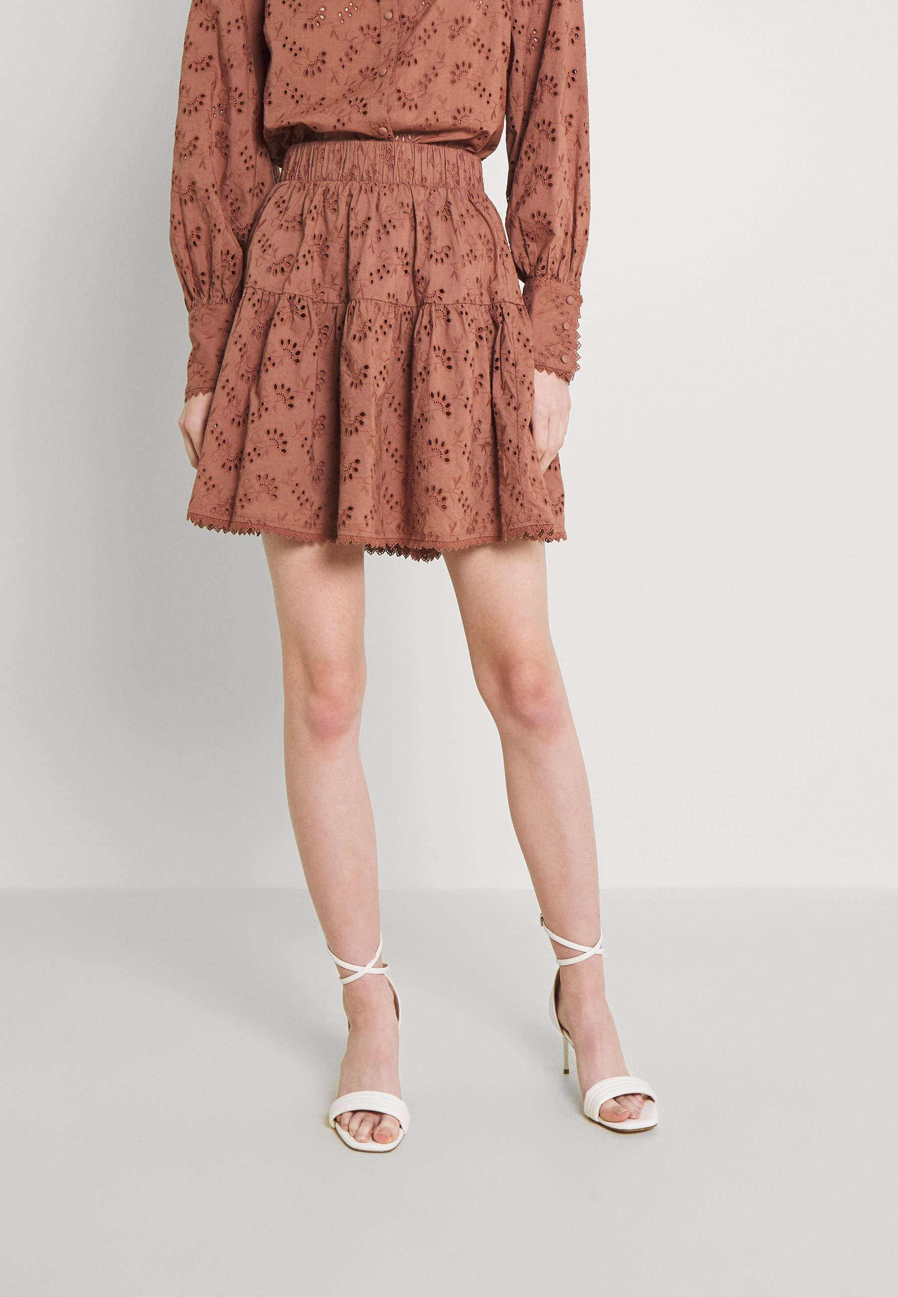Mujer YASSINNI SKIRT - Minifalda
