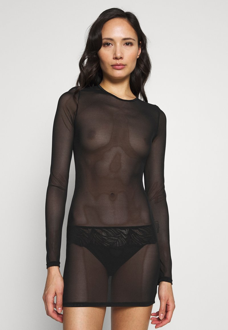 Ann Summers - THE VISIONARY DRESS - Nattskjorte - black