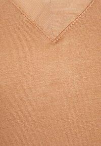 Anna Field - Basic T-shirt - camel - 2