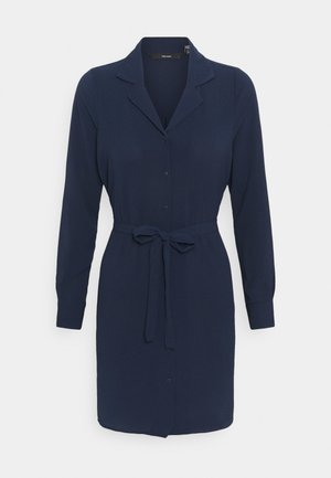 VMSAGA DRESS - Day dress - navy blazer