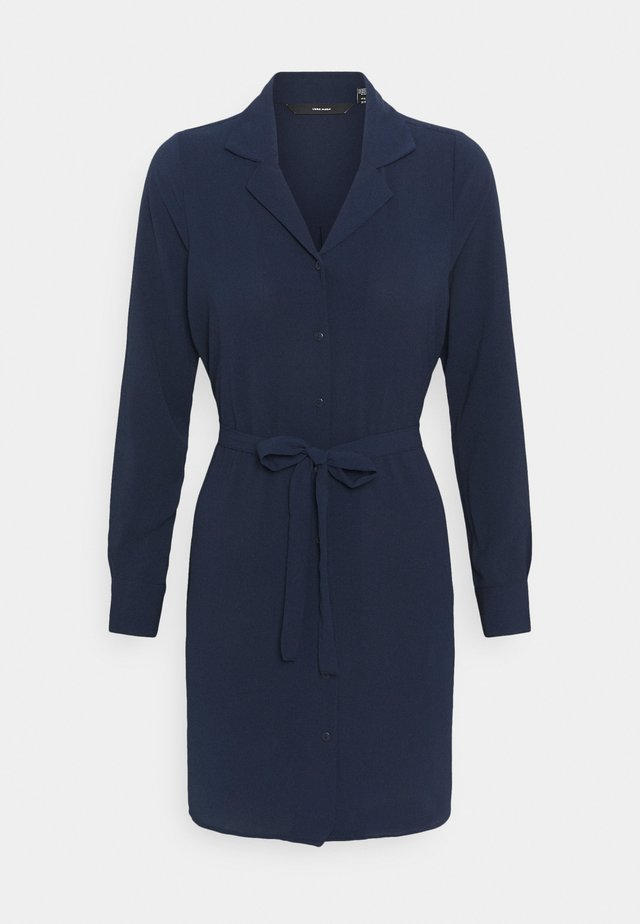 VMSAGA DRESS - Day dress - navy blazer