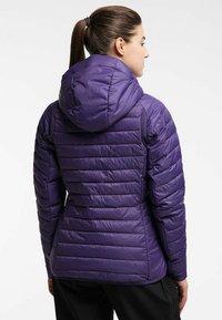 Haglöfs - Winter jacket - purple rain - 1
