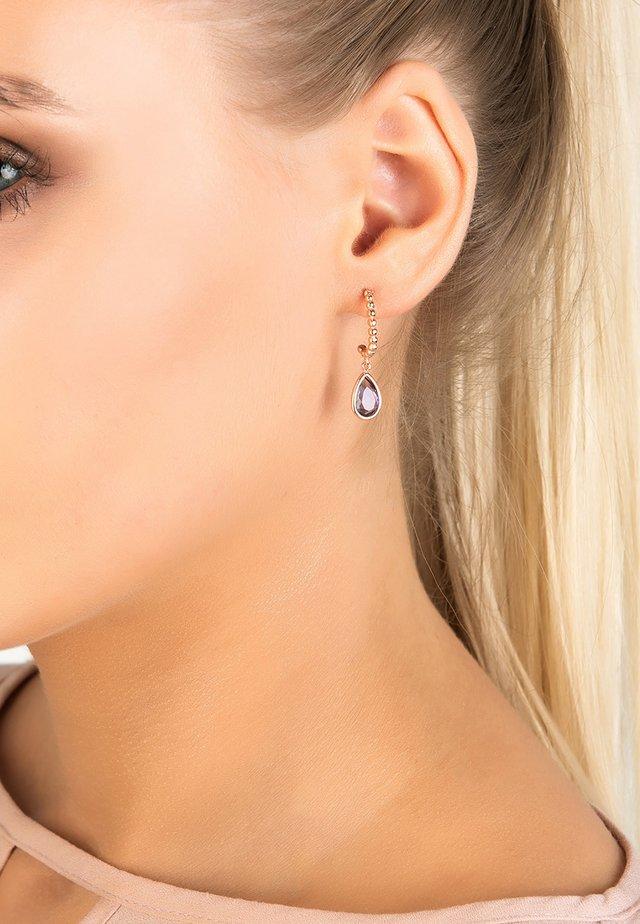 Boucles d'oreilles - lila