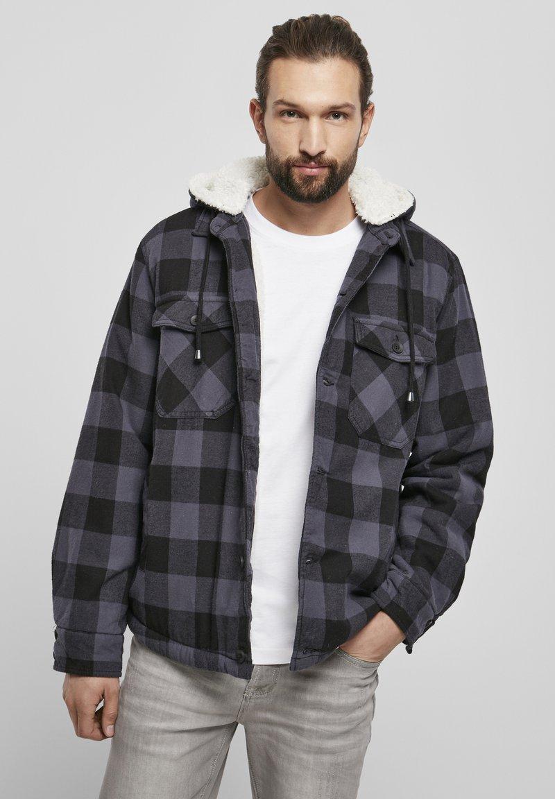 Brandit - LUMBER - Light jacket - black/grey