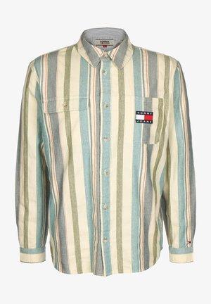 LONGSLEEVE COTTON MULTI STRIPE - Shirt - twilight navy/multi
