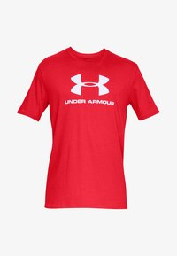 Under Armour - Print T-shirt - red - 0