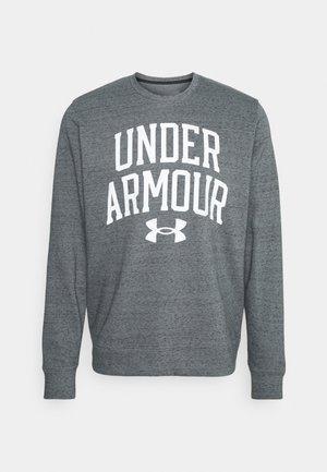 RIVAL CREW - Sweatshirt - pitch gray full heather