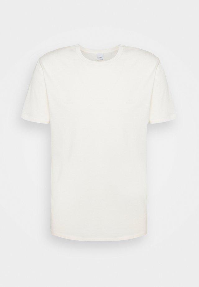 TROY - T-shirt basic - cannoli cream
