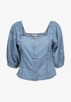 Blouse - light blue wash