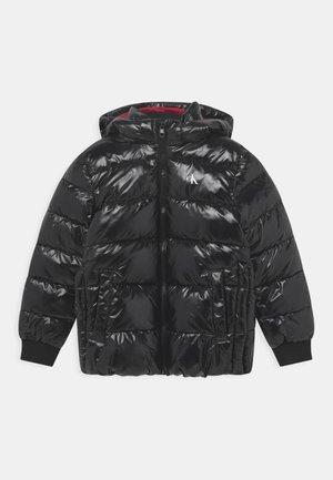 SHINY PUFFER - Winter jacket - black