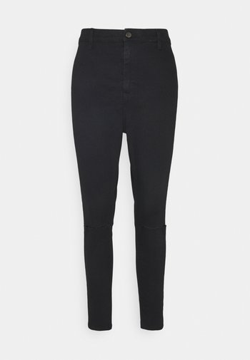 BLACK RIP JONI - Jeans Skinny Fit - black