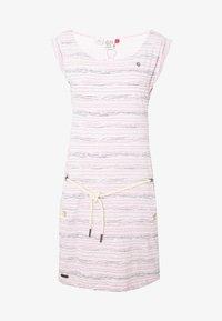 Ragwear - TAG SEA - Žerzejové šaty - light pink - 3