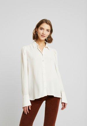 IZA - Button-down blouse - grayed