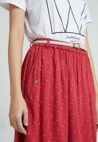 Ragwear - MARE - Áčková sukně - chili red - 4