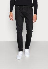 Pier One - Jeans Skinny Fit - black denim - 0