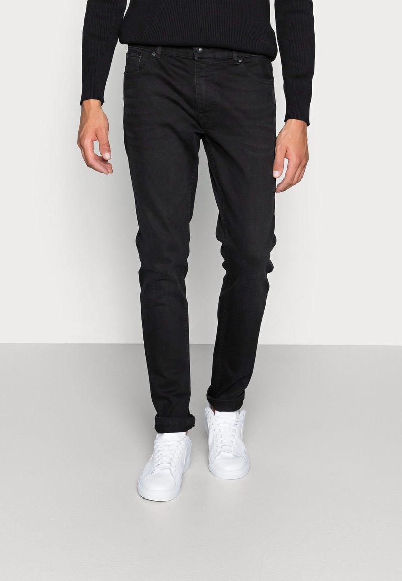 Pier One - Jeans Skinny Fit - black denim