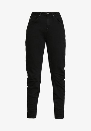ARC 3D LOW BOYFRIEND - Jeans Tapered Fit - nero black/denim jet black