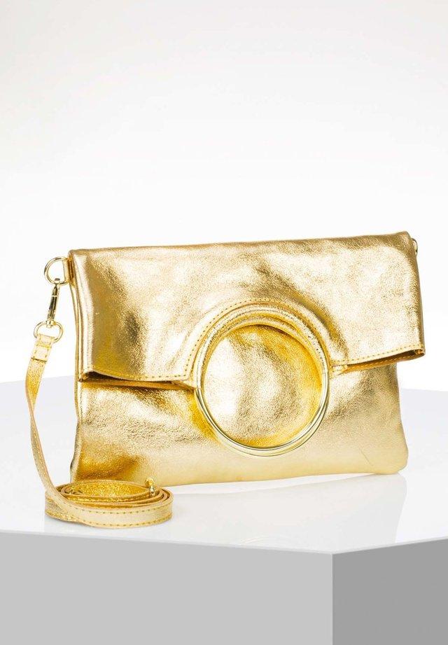 Schoudertas - gold