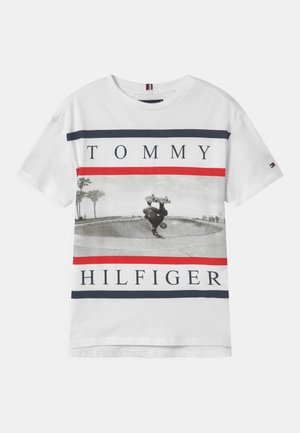 PHOTO PRINT  - Camiseta estampada - white