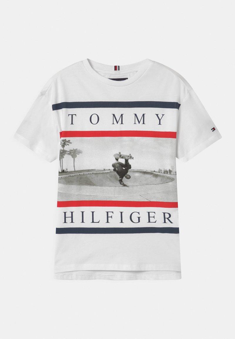 Tommy Hilfiger - PHOTO PRINT  - T-shirt imprimé - white