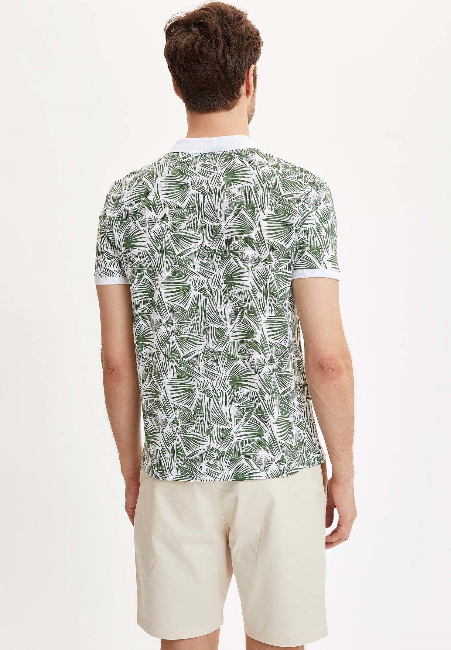 DeFacto Polo shirt - green cfO0S