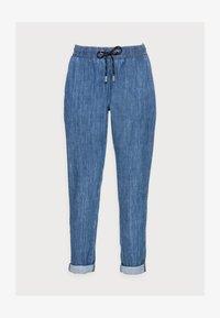 Rich & Royal - LIGHT PANTS - Trousers - denim blue - 4