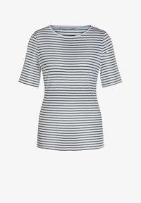 Oui - Print T-shirt - blue - 4