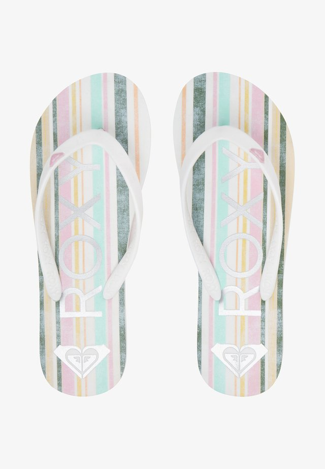 TAHITI VII - Japonki - white/pink/multi