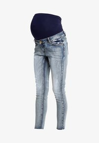 Forever Fit - ANKLE GRAZER - Jeans Skinny Fit - mid wash - 4
