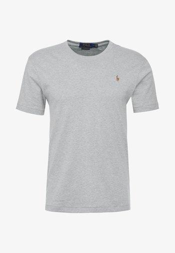 CUSTOM SLIM SOFT TEE - Basic T-shirt - andover heather