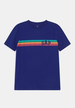 T-shirt imprimé - capital blue