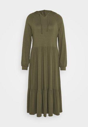 KAHEMMA DRESS - Jersey dress - grape leaf