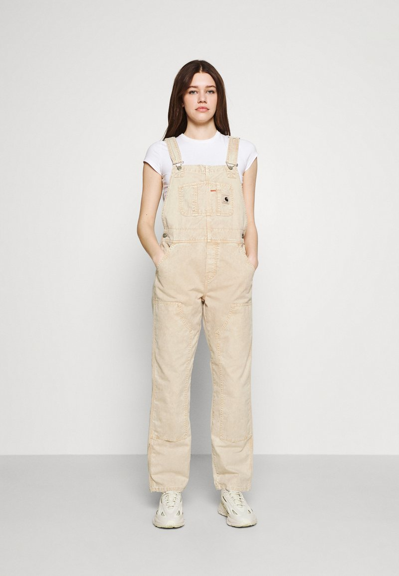 Carhartt WIP - SONORA  - Dungarees - dusty brown