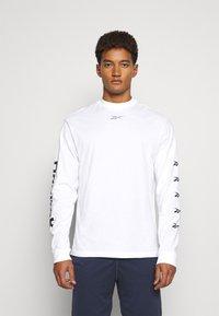 Reebok - Pitkähihainen paita - white - 0