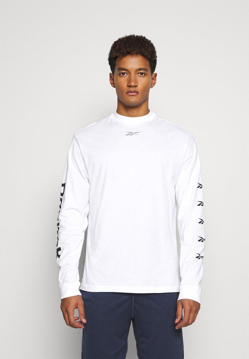 Reebok - Pitkähihainen paita - white