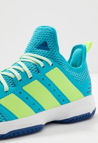 adidas Performance - STABIL - Handball shoes - turquoise - 5