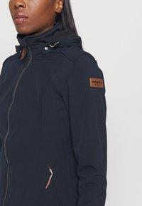 Icepeak - UHRICHSVILLE - Soft shell jacket - dark blue - 5