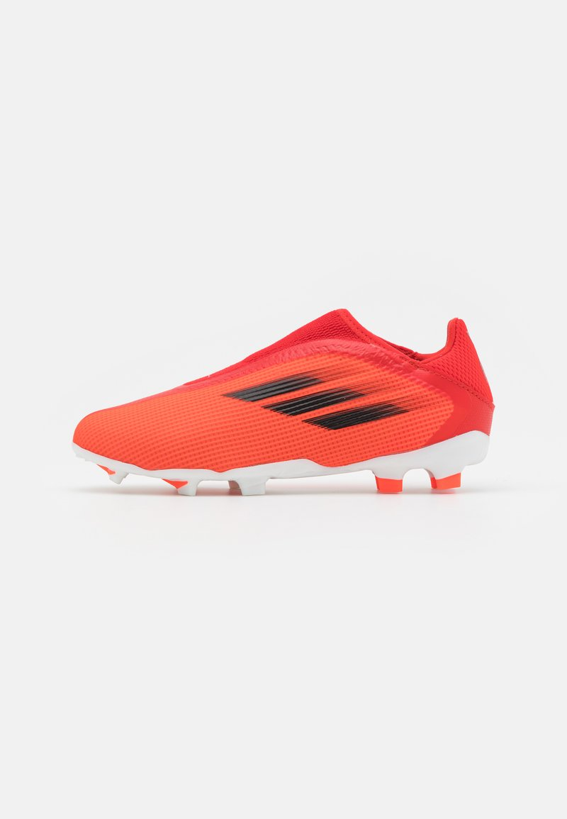 adidas Performance - X SPEEDFLOW.3 FIRM GROUND UNISEX - Moulded stud football boots - red