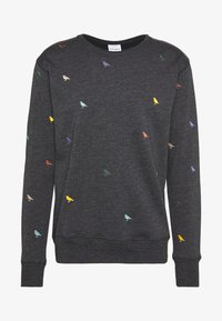 Cleptomanicx - GULL ALLOVER - Sweatshirt - black - 0